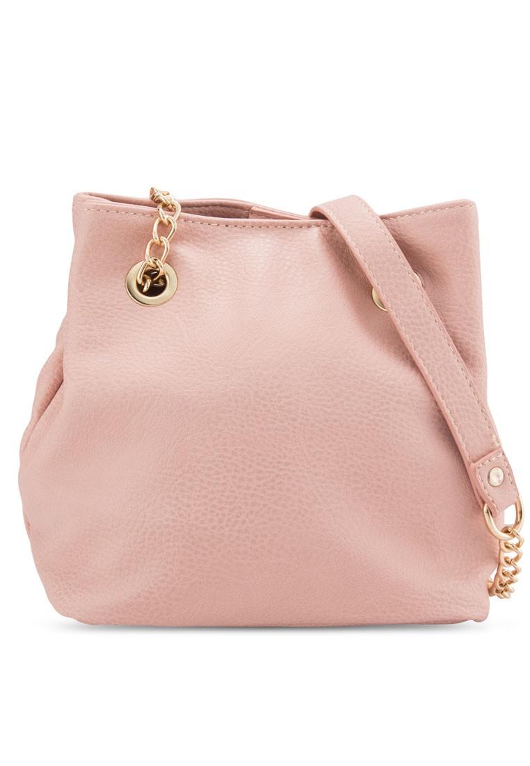 Double Compartment Chain Handbag