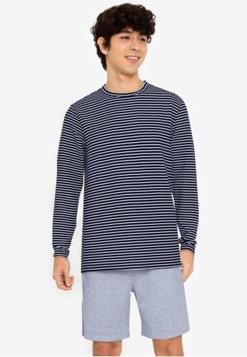 ZALORA BASICS multi Striped Pullover 6FACAAA01A7BD5GS_1