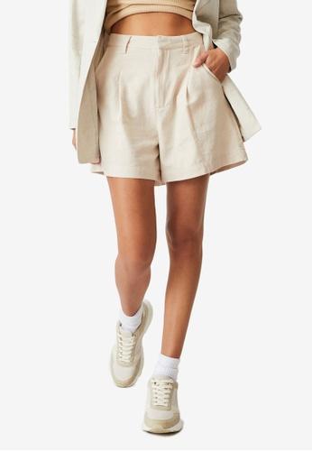 Cotton On beige Ultimate Smart Shorts D59B4AA0780AA0GS_1