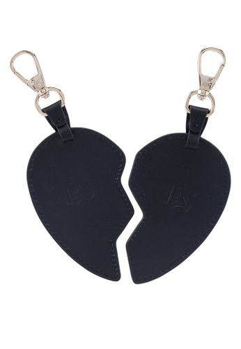 Pop & Suki black Bff Heart Tag BFC6BACEAC5543GS_1