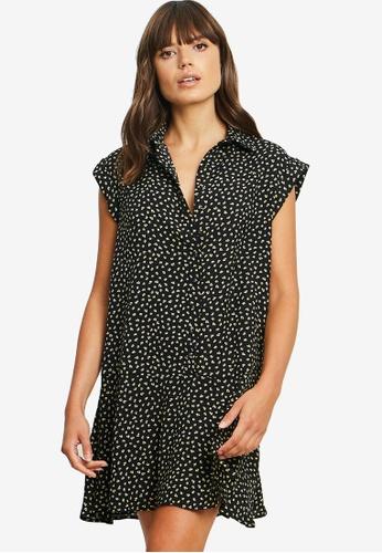 Calli black Jaliyah Shirt Dress DFBEBAAD6E5CE2GS_1