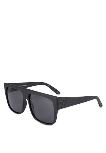 Le Specs black Bravado Sunglasses 5CC40GL64A7B88GS_1