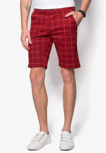 格紋短esprit outlet 台灣褲, 服飾, 短褲