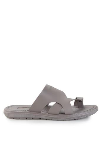 Watchout! Shoes grey Sandal Thongs WA021SH0V7XYID_1