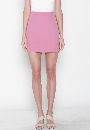 JOVET pink Mini Skirt 6EDA4AA7847C09GS_1