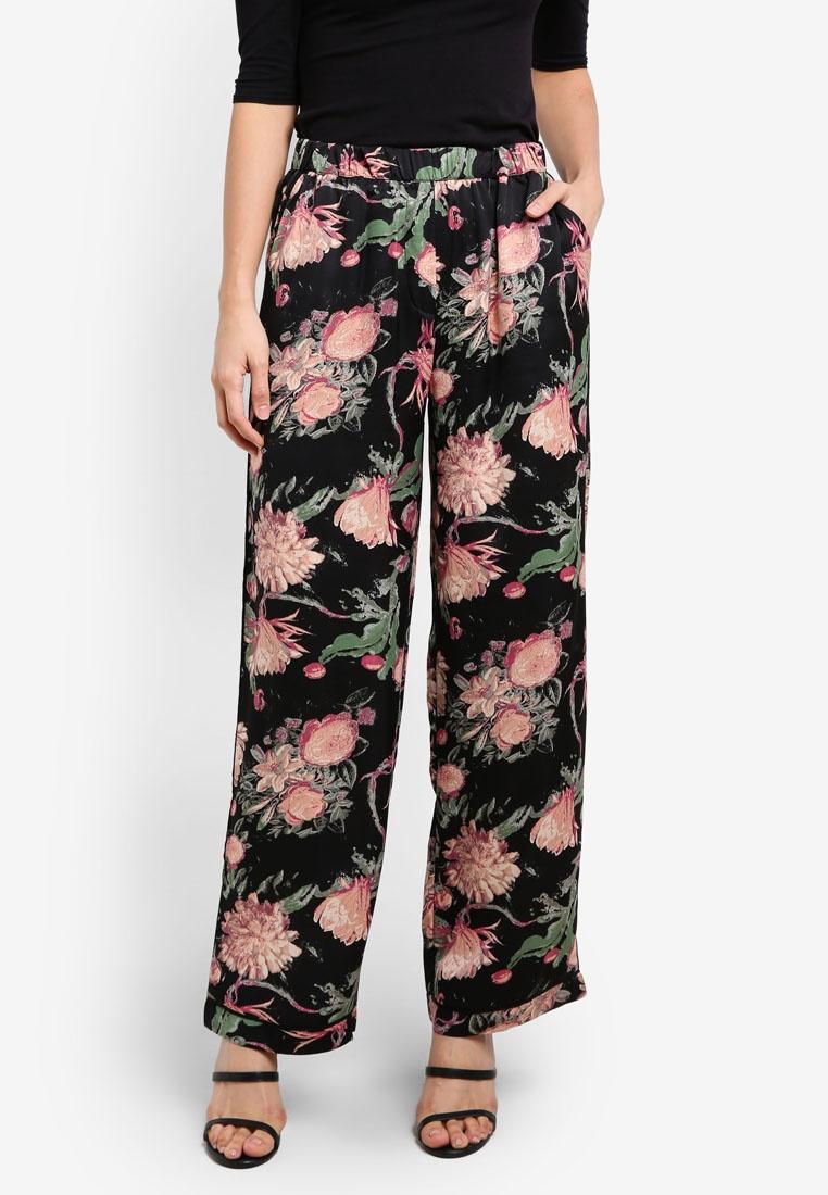 Black Aop Y A Flora S Pants qUBIw