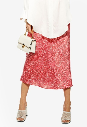 top-rated official special selection of sold worldwide Spot Animal Bias Midi Skirt