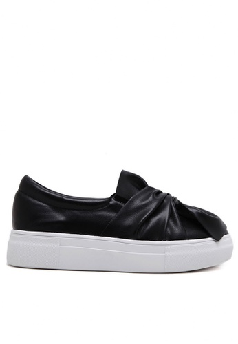 Twenty Eight Shoes black Platform Sneakers 303-157 TW446SH63YJKHK_1
