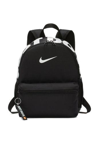 Nike black Brasilia JDI Backpack 67550KC4E5E110GS_1