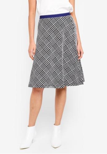 ESPRIT black Knitted Midi Skirt B5473AAA3056B9GS_1