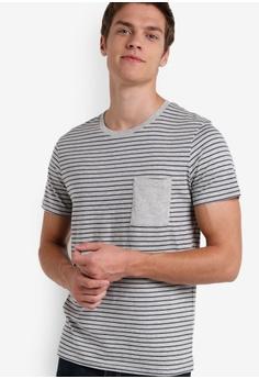 Stripe Print Tee