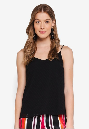 Pieces black PCNIKA SLIP TOP FF 3F538AAF4BB2EFGS_1