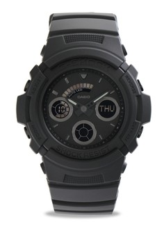 4c4baade5e3 G-Shock black Men Analog Watches AW-591BB-1ADR GS687AC0UINNID 1