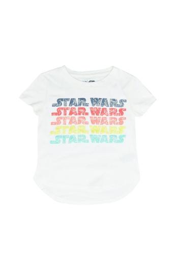 GAP white Star Wars Flippy Sequin T-Shirt CA8C8KAA30F7C8GS_1