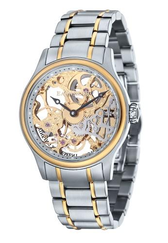Thomas Earnshaw multi Thomas Earnshaw BAUER ES-8049-22 Men's Two Tones   Solid Bracelet Watch B6091ACF0D7454GS_1