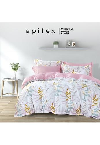 Epitex Epitex Hybrid Botanic Silk 1000TC Printed Bedsheet - Fitted Sheet Set - w/o quilt cover 68D89HLE43F490GS_1