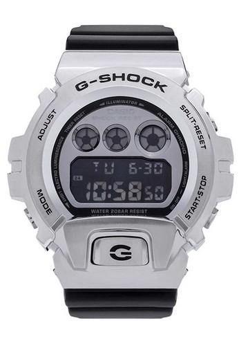 G-Shock black Casio G-SHOCK Jam Tangan Pria - Black Silver - Resin - GM-6900-1DR 6398AACE120A73GS_1