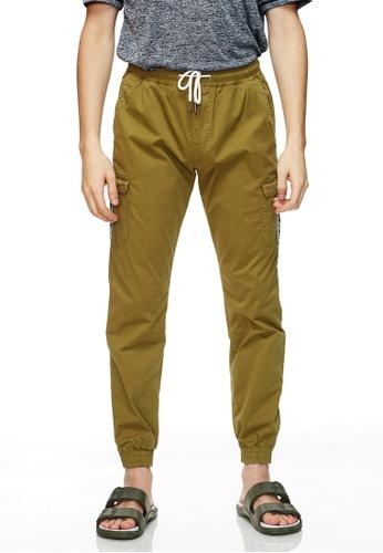 Life8 綠色 Casual Japan Style Jogger Pants -02496-Green 4F42DAA2293C9DGS_1