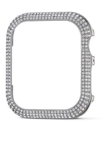 SWAROVSKI silver Sparkling Case Apple Watch compatible 8B1CBACE59C50AGS_1