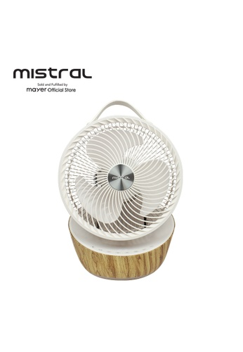 """Mistral white Mistral 9"""" High Velocity Fan with Remote Control MHV1010DR FBDDBES9DC9ED8GS_1"""