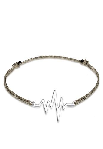 Elli Germany Silver Heartbeat Bracelet El474ac0rfhymy 1