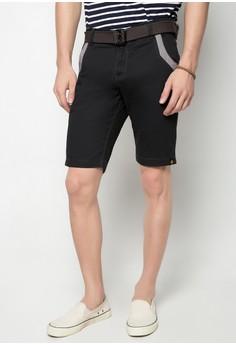 Col. Shorts w/ Belt