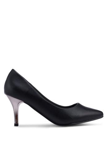 Carlton London 黑色 基本高跟鞋 31639SH818279EGS_1
