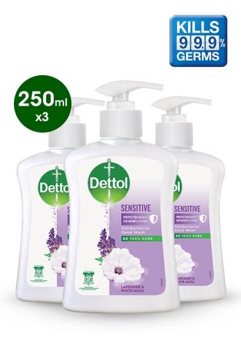 Dettol Dettol Liquid Hand Wash Sensitive 250ml - Bundle of 3 3DBEDES29AD600GS_1