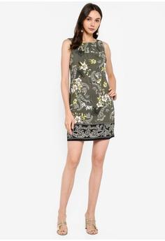 51c0153c04b Dorothy Perkins Petite Khaki Paisley Shift Dress S$ 89.90. Available in  several sizes