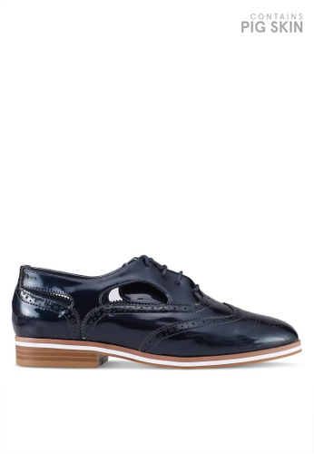 BETSY blue Classic Lace Up Derby 58D32SH0D109F4GS_1