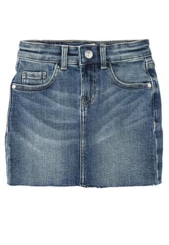 ONLY blue Wonder Med Blue Denim Skirt 18148KABF98751GS_1