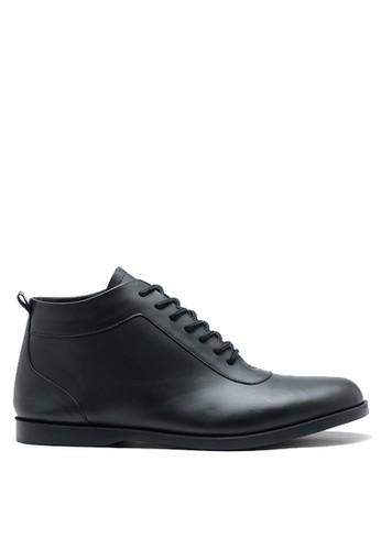 Brodo black BRODO - Sepatu Pria Aloga Full Black DA5C5SHE14FAEFGS_1