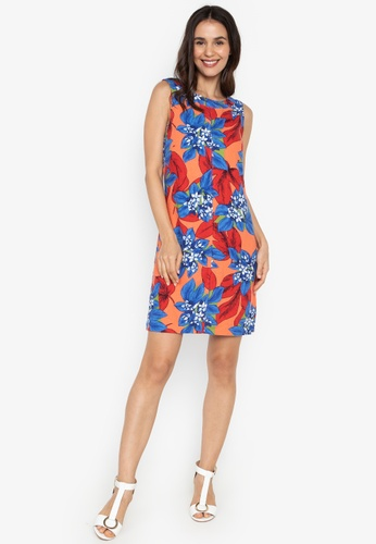 26dfa78233 Shop MARKS   SPENCER Linen Rich Floral Print Dress Online on ZALORA  Philippines