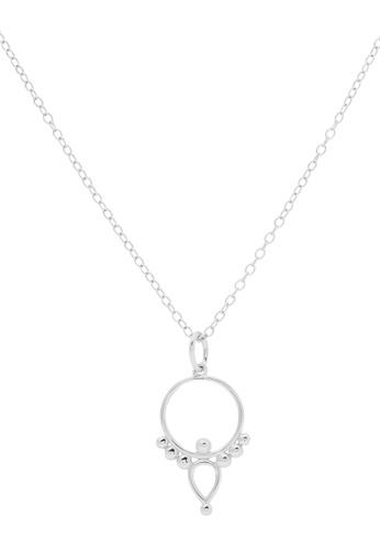 Pastiche silver Bamboo Necklace 4EFA1AC5FCE45AGS_1