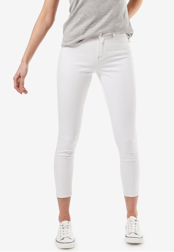 Dorothy Perkins white White Contrast Darcy With Organic Cotton 0D2AFAAA8A5923GS_1