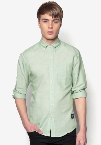 牛津長袖襯衫, 服飾, 素色襯esprit高雄門市衫