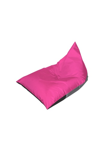 doob grey and pink and multi PLATOOPAT ALFRESCO - outdoor doob bean bag lounger (Dragonfruit) EFC7DHL6F00309GS_1