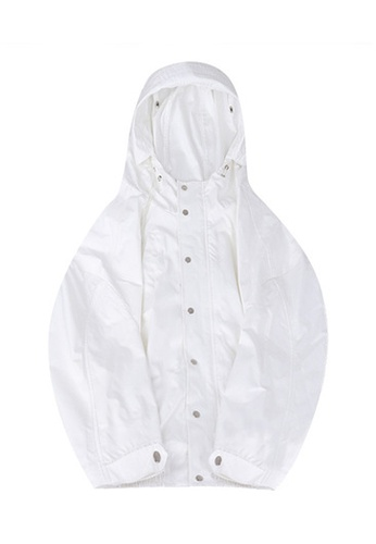 Twenty Eight Shoes white VANSA Solid tone Wind Jacket VCW-T5750 ADB8CAA1A912A0GS_1