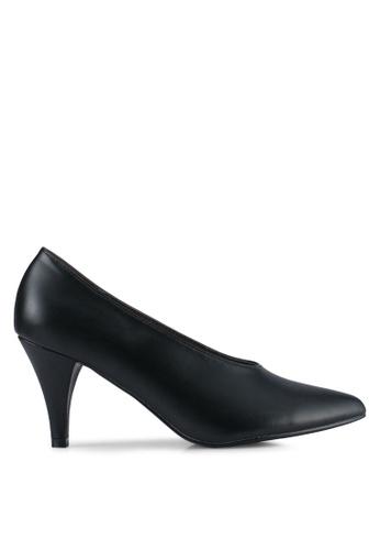 Nose black Pointed Heel Pumps NO327SH0SJ1RMY_1