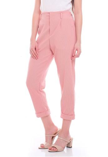 JOYFULIE pink Doreen Pants Pink 2F08AAA438FDCDGS_1