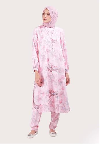 SHAFIRA pink Drizella Long Tunic EFAB4AAA4B444EGS_1