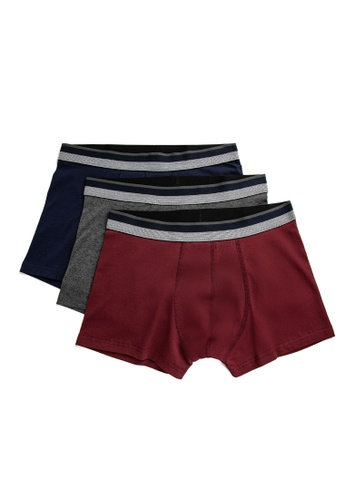 KOTON red 3-Pack Boxers 0A315USE673326GS_1