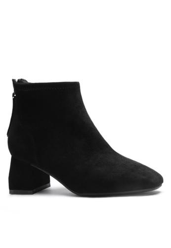 Twenty Eight Shoes 猄布修腳踝靴1922-3 1449BSHBF2D446GS_1