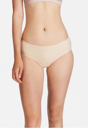 6IXTY8IGHT beige Lydia PMP, Little Sheep Hipster Panty PT10314 CFABEUS42B390EGS_1