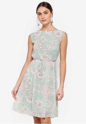 FORCAST green Whitney Sleeveless Dress A2F0AAA1F9760CGS_1