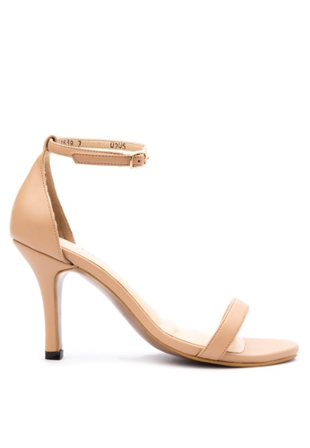 9f3814099202 Shop CARMELLETES HIGH HEELED ANKLE STRAP SANDALS Online on ZALORA  Philippines
