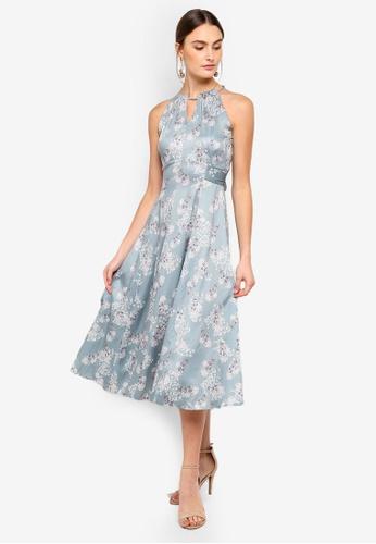 FORCAST green Kenya Tie Waist Dress DFC89AA54A2C6AGS_1