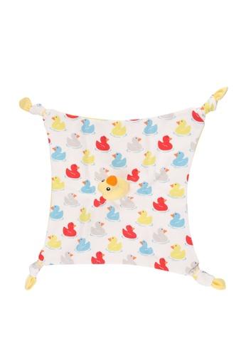 Cath Kidston beige Rubber Duck Baby Comforter 5D48DKCBEA69D1GS_1