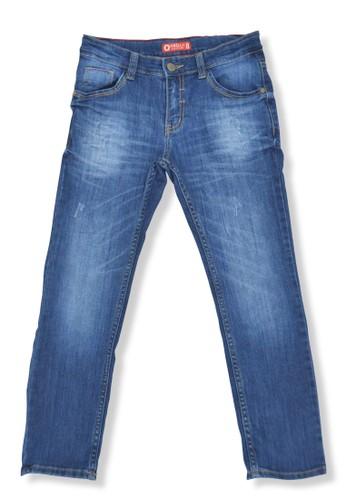 Osella Kids blue Osella Celana Anak Laki Laki Jeans Polos Blue 93AA3KA1D0CB50GS_1