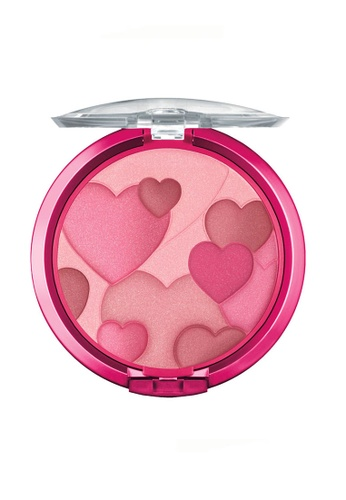 Physicians Formula pink Blusher: [Physicians Formula Official] Happy Booster Glow & Mood Boosting Blush - Rose (FREE x1 Angle Brow Brush) PH385BE67DIEMY_1